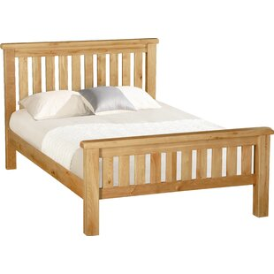 Afognak Slatted Bed Frame By Union Rustic