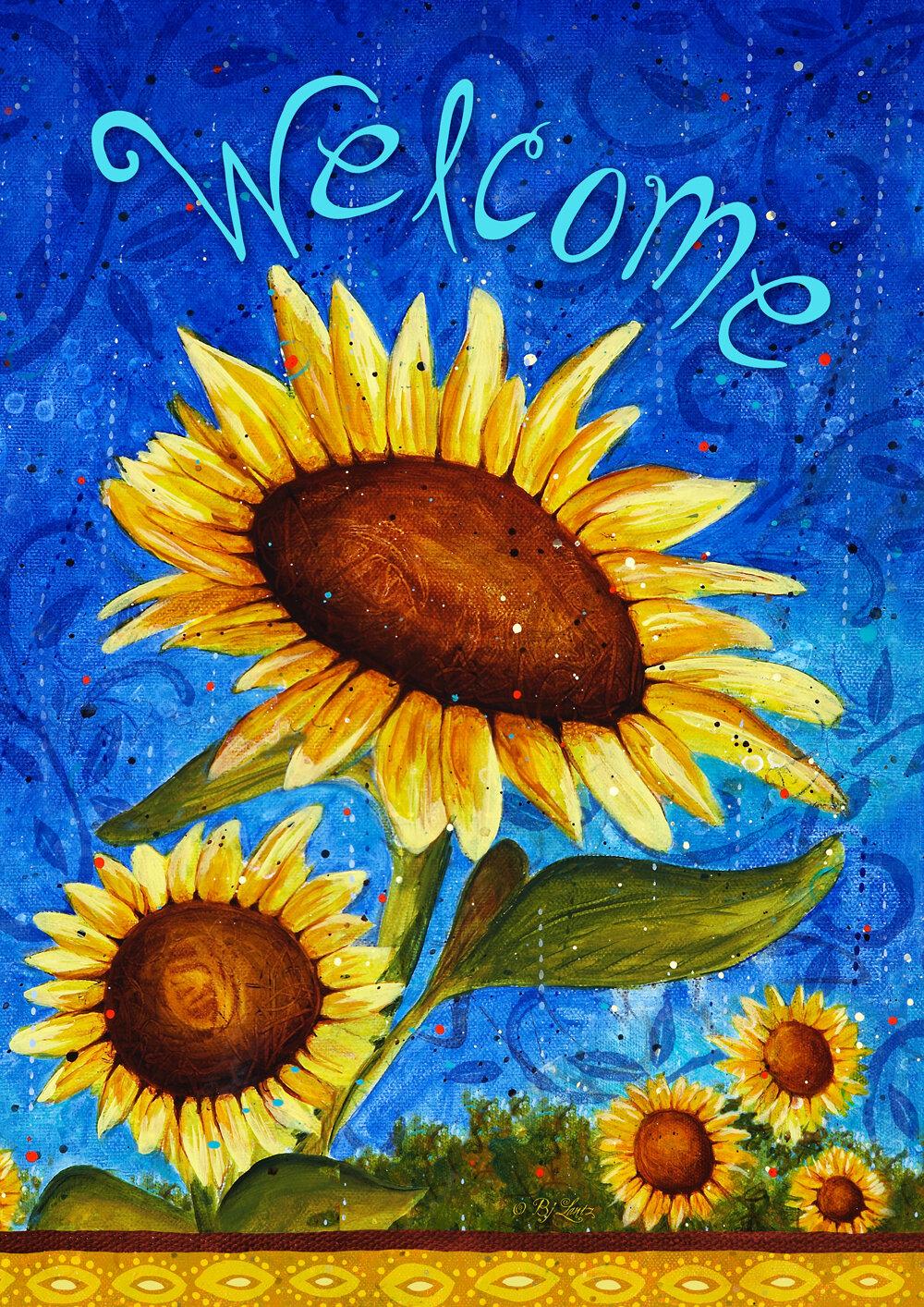 Sunflower Flags You Ll Love In 2021 Wayfair
