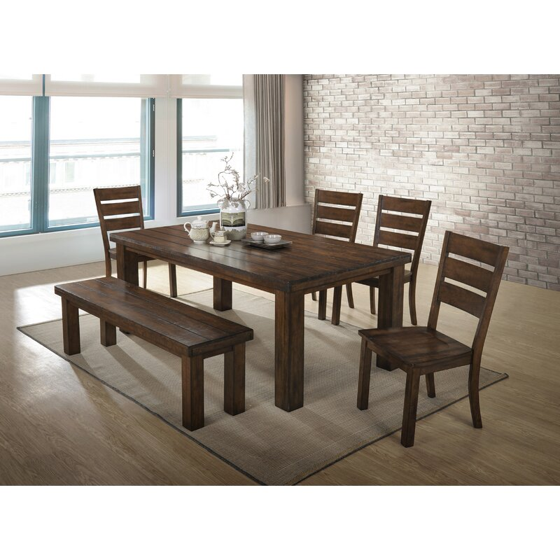 Morefield 6 Piece Dining Table Set