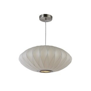 Modern pendant lighting allmodern 1 light globe pendant aloadofball Image collections
