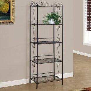 Edwin Etagere Bookcase by Monarch Specialties Inc.