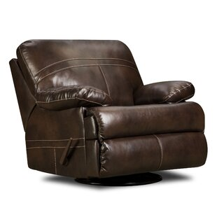 Obryan Manual Swivel Glider Recliner by Simmons Upholstery