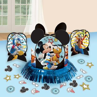 Mickey Mouse on the Go Paper Disposable Table Decorating Kit