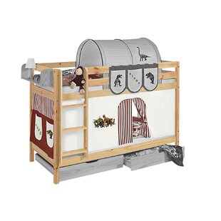 Cutshall European Single Bed With Curtains By Zoomie Kids
