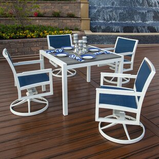 Trex Outdoor Parsons 5 Piece Dining Set