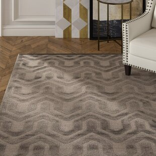 Beaconsfield Silver/Gray Area Rug byMercer41