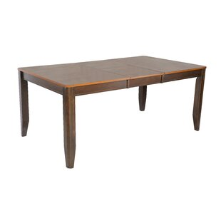 Berkshire Butterfly Leaf Dining Table Red Barrel Studio