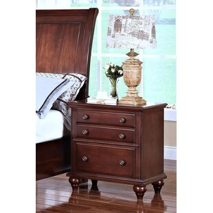 Darby Home Co Xie 3 Drawer Nightstand