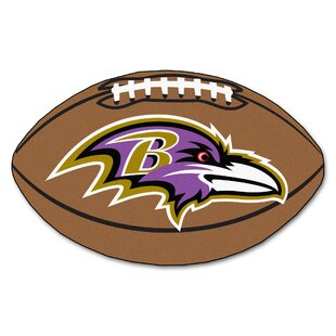 NFL - Baltimore Ravens Football Mat By FANMATS