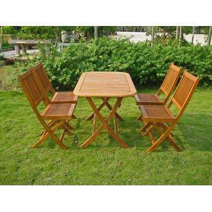 Sabbattus Melilla 5 Piece Dining Set by B..