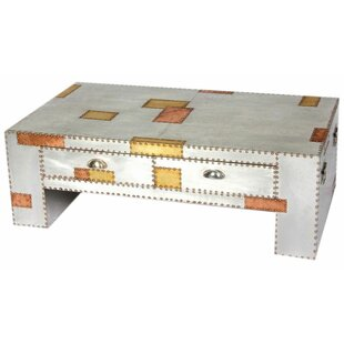 Aluminium And Copper Coffee Table