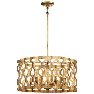Savings Coronade 5-Light Drum Chandelier By Metropolitan by Minka