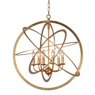 Mucha 6-Light Globe Chande..