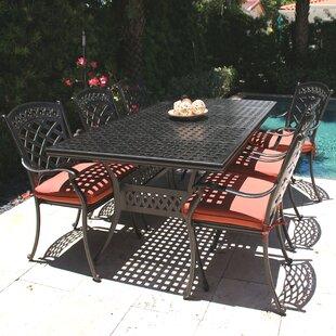 Infinita Corporation ComfortCare 7 Piece Outdoor Dining Set