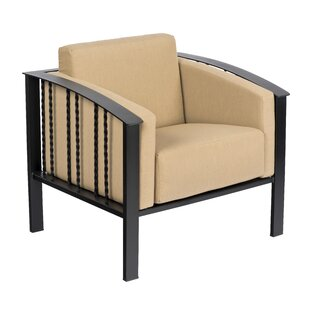 Comstock Patio Chair with Cushions by Woodard