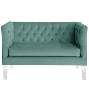 Comstock Tufted Settee Sleeper