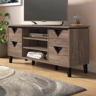 Three Posts Lorraine Tv Stand For Tvs Up To 60 Reviews Wayfair
