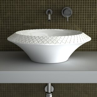 Maestro Bath Konka Circular Vessel Bathroom Sink