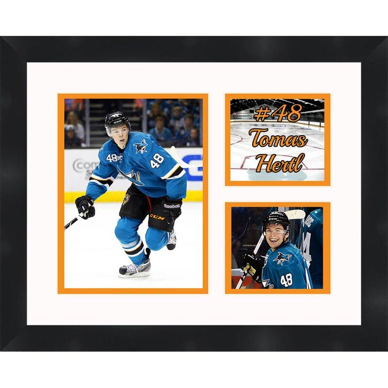 Frames By Mail San Jose Sharks 48 Tomas Hertl Framed Photographic Print Wayfair