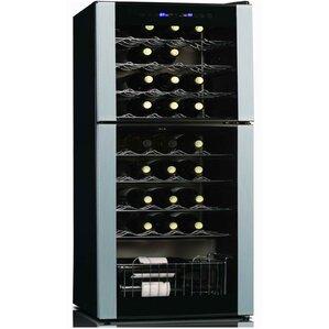 45 bottle dual zone wine cooler - Under Counter Wine Fridge