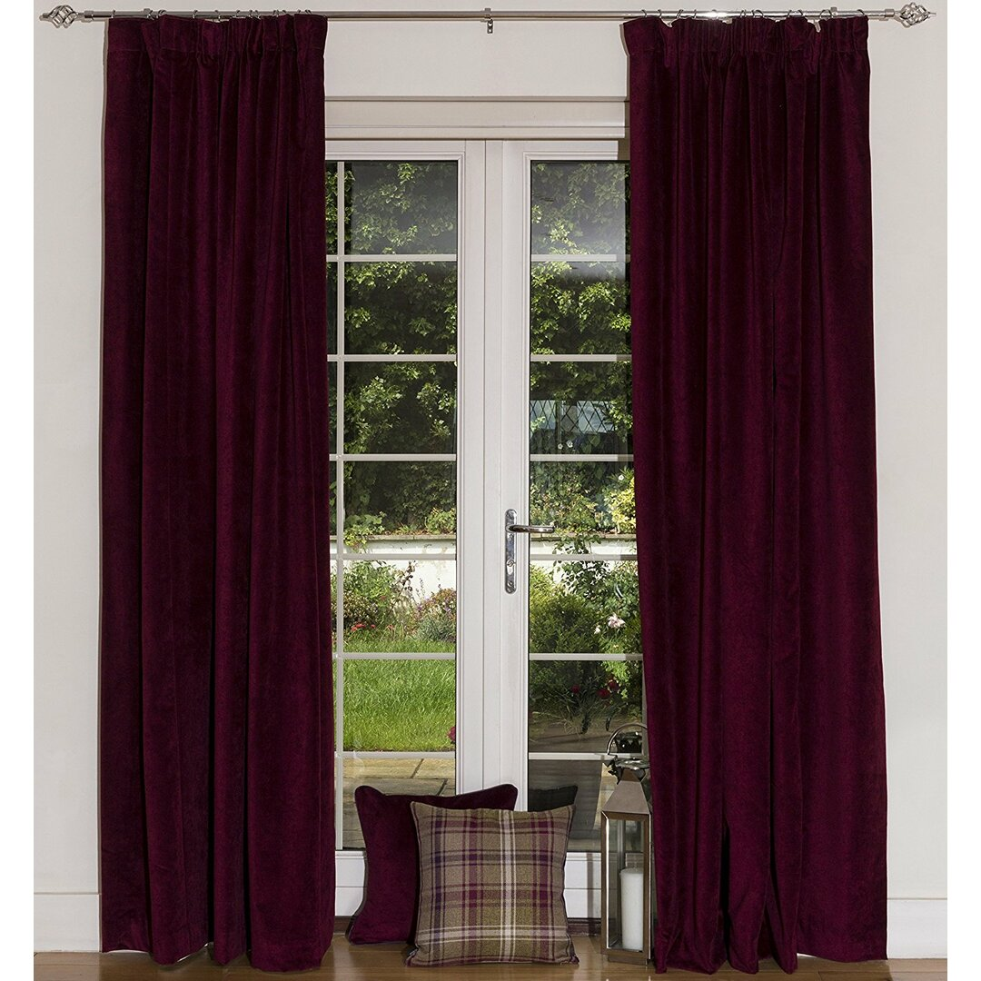 Offerman Pencil Pleat Blackout Thermal Curtains