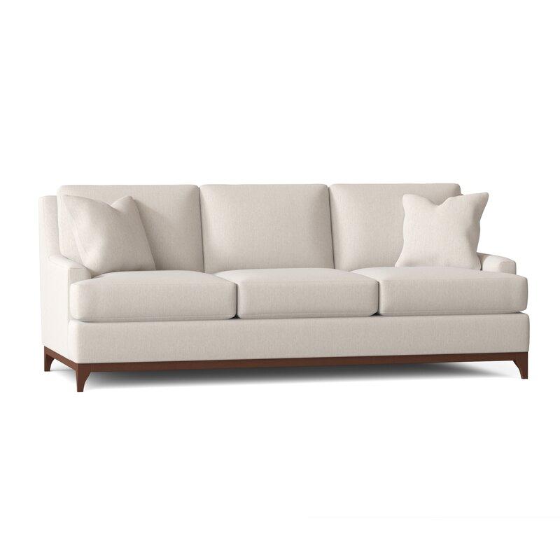 "Bannister 89"" Recessed Arm Sofa"