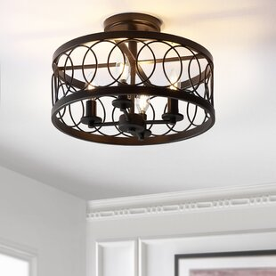 Carreiro 4-Light Semi Flush Mount by Gracie Oaks