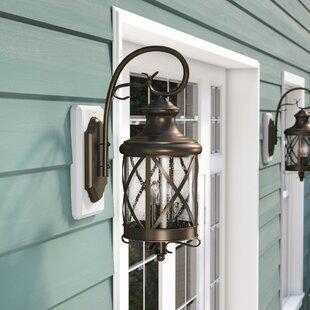 Tucker Outdoor Wall Lantern by Charlton Home