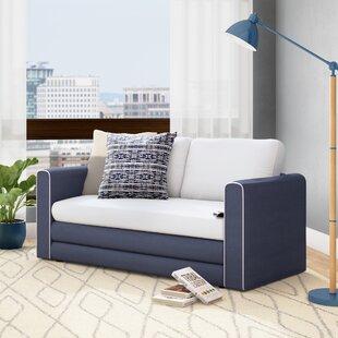 Hertfordshire Sleeper Loveseat by Ebern Designs