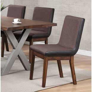 Natick Upholstered Dining Chair (Set of 2) Union Rustic