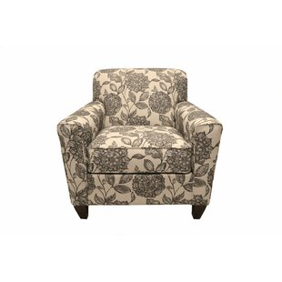 Darby Home Co Blasingame Floral Armchair