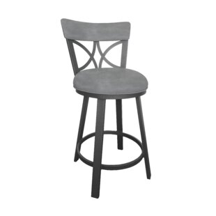 Price Check Bicester 26 Swivel Bar Stool by Winston Porter Reviews (2019) & Buyer's Guide