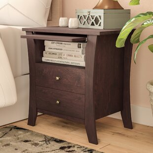 Ashburton 2 Drawer Nightstand by Ebern Designs