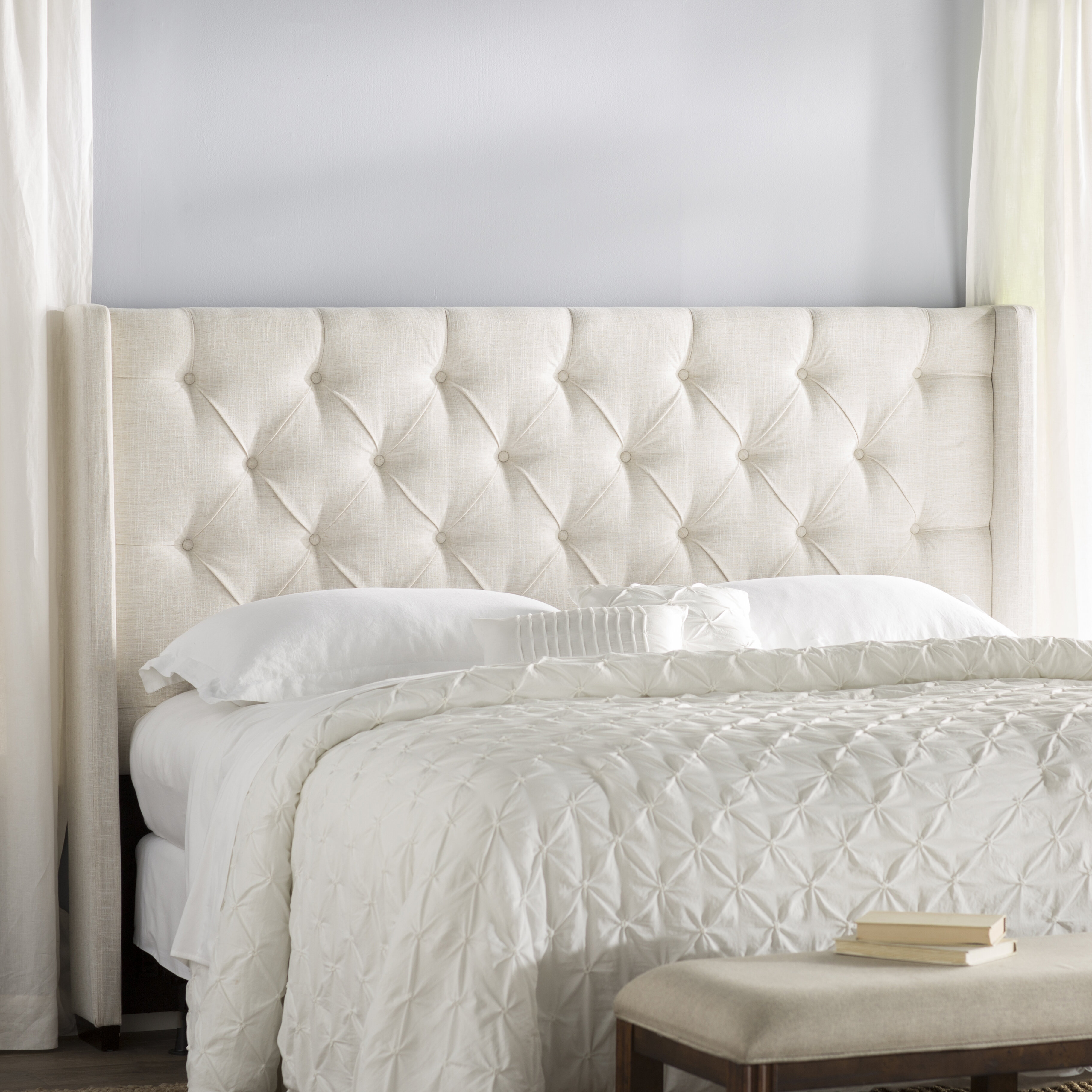 Beau Andrews Upholstered Wingback Headboard