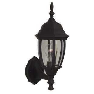 Shop For Oakhill 1-Light Outdoor Aluminum Sconce By Charlton Home