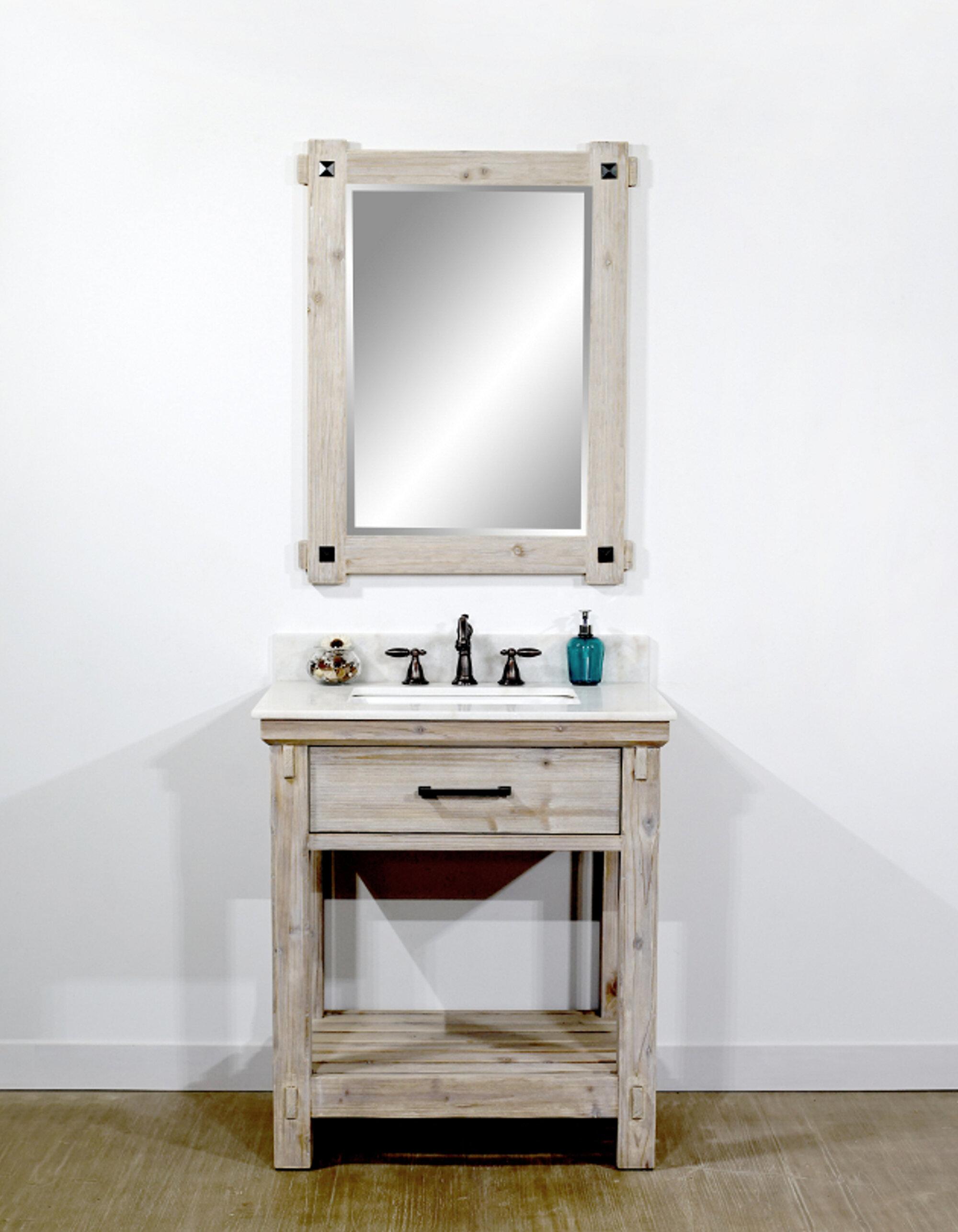 """Tobias 12"""" Single Bathroom Vanity Set"""