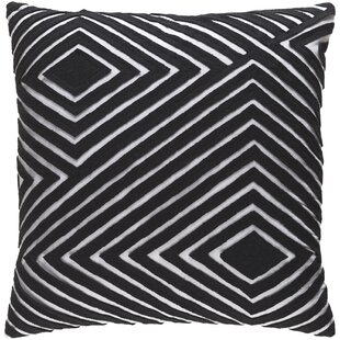 Keese Cotton Throw Pillow by Mercury Row Coupon