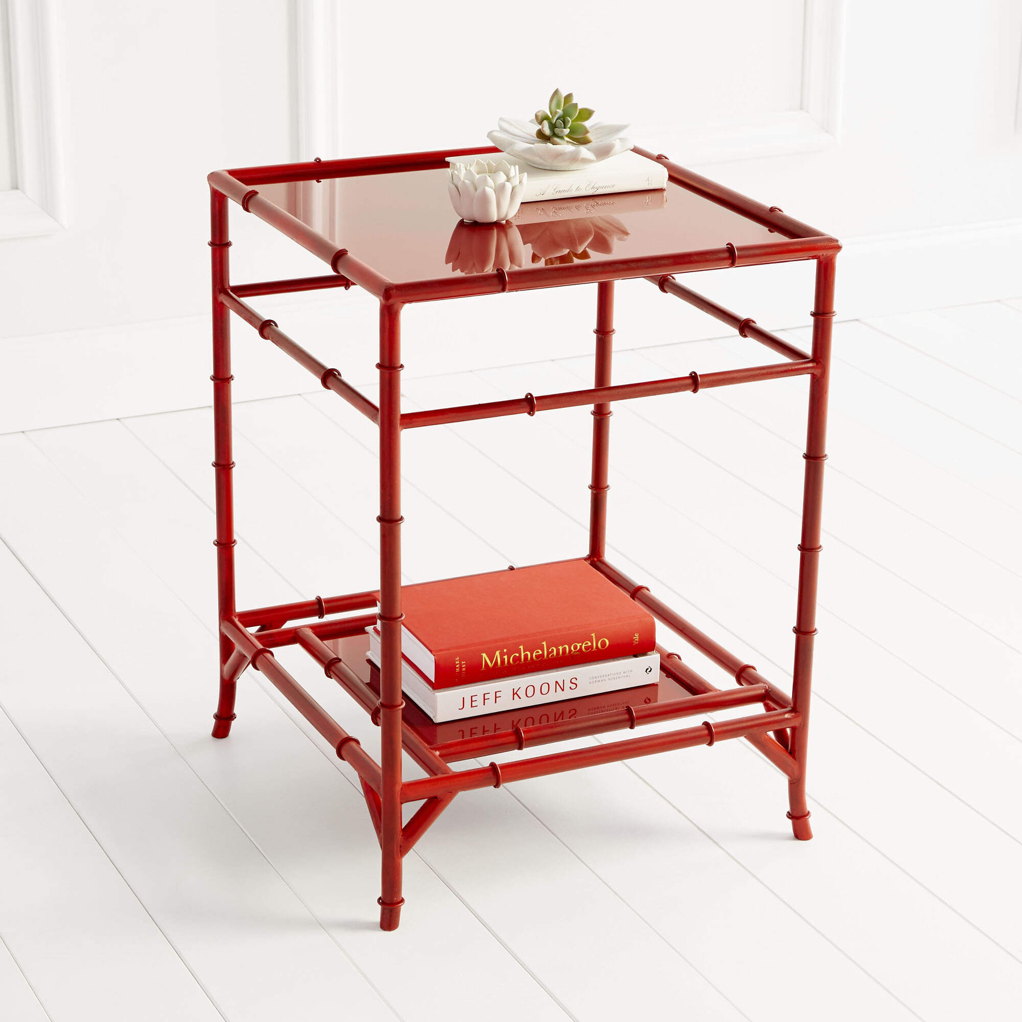 Red Tray Top End Side Tables You Ll Love In 2021 Wayfair