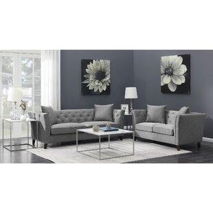 Everly Quinn Trevino Configurable Living Room Set