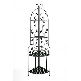 Winston Porter Robards Leaf Stainless Steel Baker's Rack