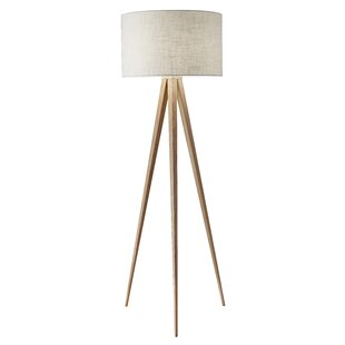 Modern contemporary floor lamps allmodern teterboro modern 6025 tripod floor lamp aloadofball Image collections
