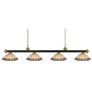 Fleur De Lis Living Billington 4-Light Pool Table Light