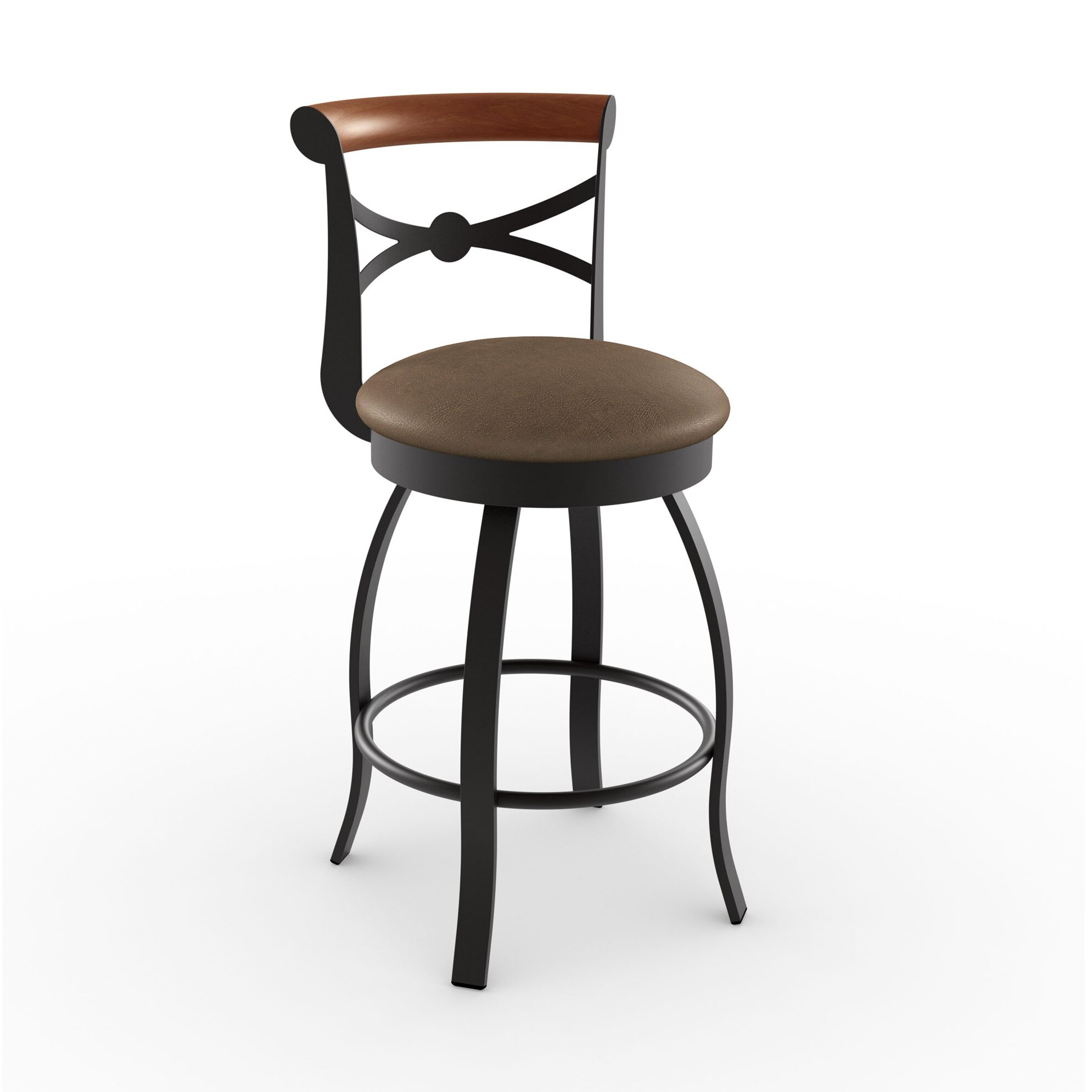 Amisco Library Luxe Style 2575quot Swivel Bar Stool  : LibraryLuxeStyle257522SwivelBarStool from www.wayfair.com size 1989 x 1989 jpeg 124kB