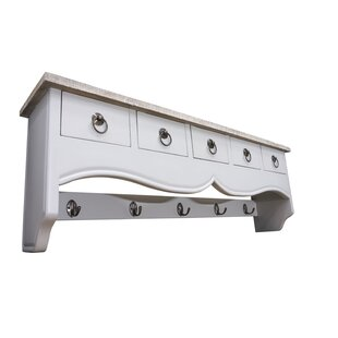 Eisenhauer Darice Wall Mounted Coat Rack By Fleur De Lis Living