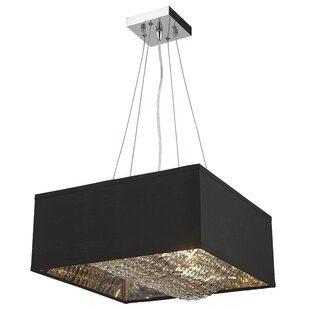 Everly Quinn Julewitz 8-Light Square/Rectangle Chandelier