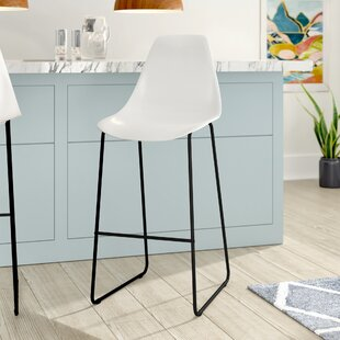 Ewing 110cm Bar Stool (Set Of 2) By Mercury Row