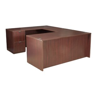 Linh Double Full Pedestal U-Shape Executive Desk
