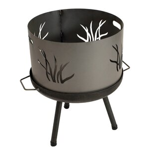 Ja Steel Wood Burning Fire Pit By Sol 72 Outdoor