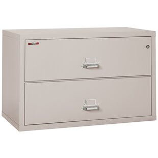FireKing Fireproof 2-Drawer La..