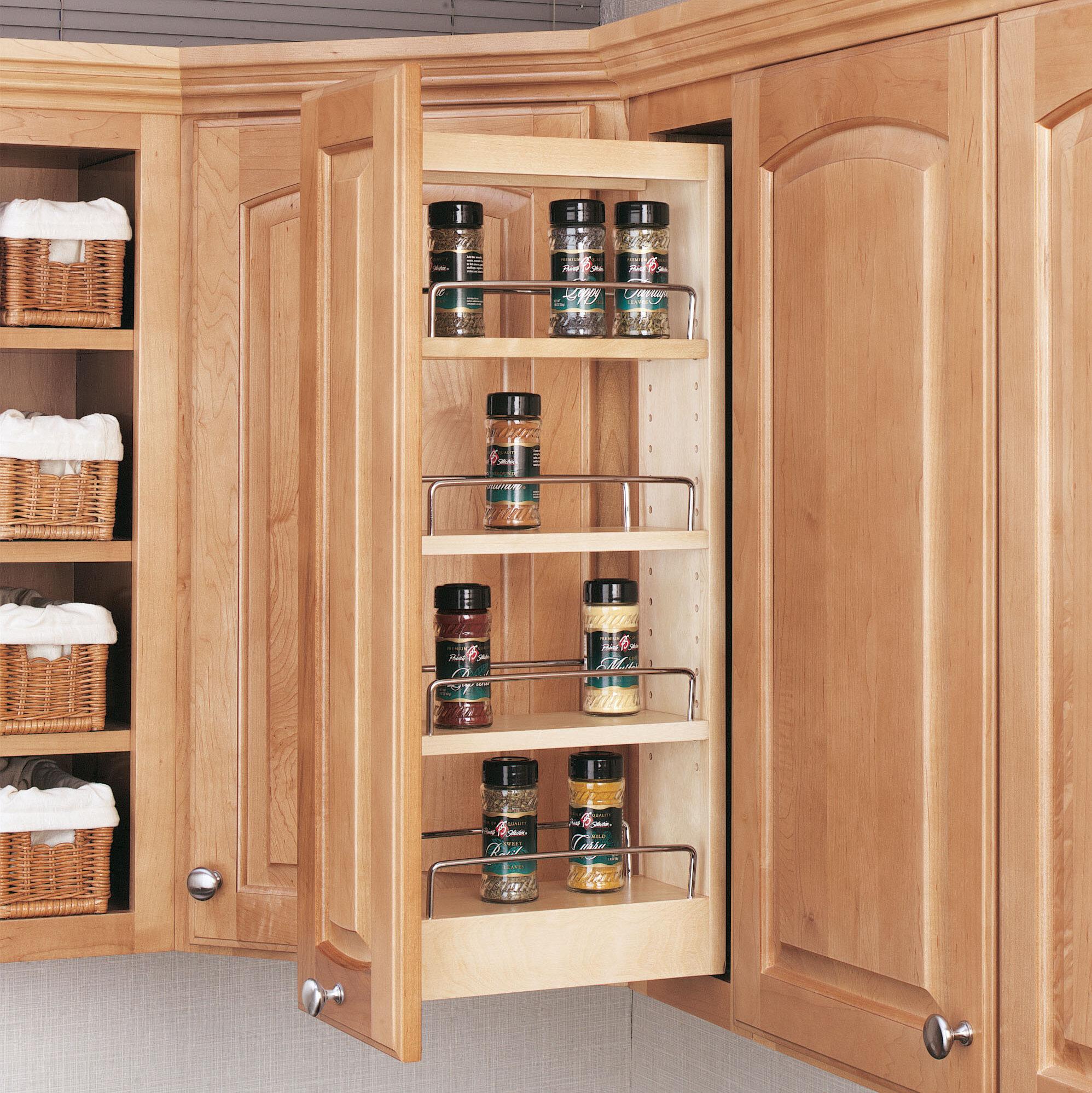 Beau Rev A Shelf Wall Cabinet Organizer Pull Out Pantry U0026 Reviews   Wayfair